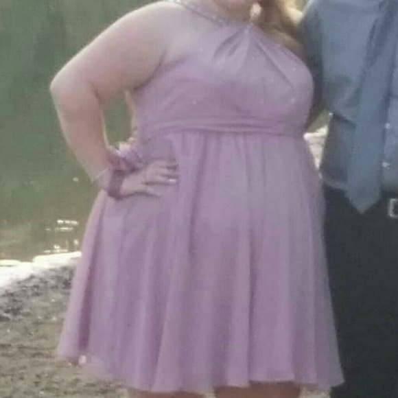 Plus Size Short Dress